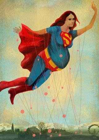 Superwoman klein